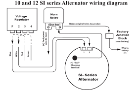 delco remy one wire alternator wiring diagram delco discover 10dn alternator wiring diagram