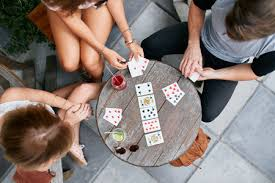 the dealer will deal a specific amount of cards depending on the number of players for 3 players each person gets 12 cards a game of 4 people will have