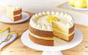 Zesty Lemon Celebration Cake Recipe Bake With Stork