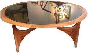 coffee table round mid century modernee table by lane chairish tableround 95 unusual round mid