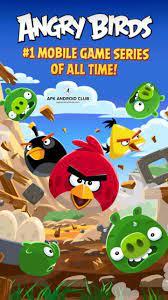 Angry Birds Classic Mod Apk v8.0.3(Unlimited Money + Infinite Power-ups)