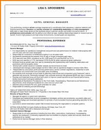 Sample Resume For Hotel New Top 8 Operations Manager Assistant