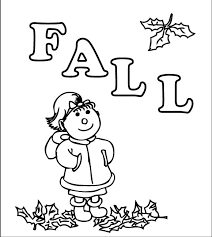 Small Picture Fall Preschool Coloring Pages Printable Fall Coloring Pages For