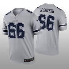 Jersey Connor Legend Mcgovern - Inverted Dallas Gray Cowboys Men's