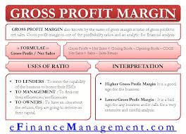 Gross Profit Margin Define Calculate Use Interpretation