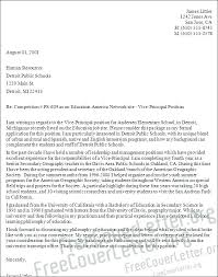 School Administrator Cover Letter Principal Cover Letter Examples Pohlazeniduse