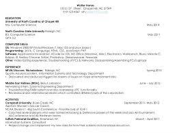 13 Computer Science Undergraduate Resume Notice Paper