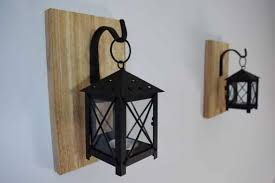 rustic candle lantern sconces wall decor wall sconce candle ideas of hanging candle holders