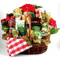 deluxe family large italian holiday basket