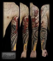 сделать тату япония санкт петербург салон андрей бойцев