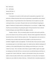 response essay response essay in george orwell s  4 pages poli essay 01