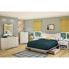 List Of Bedroom Furniture Black Leather Upholstered King Bed Frame With White Bed Linen And