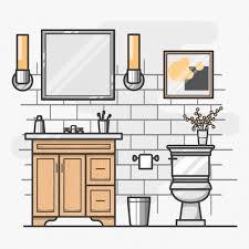 bathroom interior design. Isometric Bathroom Interior Design Free Vector R