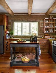 rustic cabin kitchens. Sweet Rustic Cabin Kitchen! It Has A Lot Of Modern Touches But Still Beautiful! Kitchens