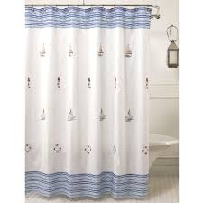 Designer Shower Curtain   Nautical Shower Curtains