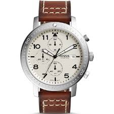 fossil men s the major chronograph timer luggage leather watch fossil men s the major chronograph timer luggage leather watch ch3084 £107 00 thewatchsuperstore com™