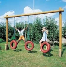 Diy playground equipment