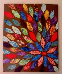 Scrapbook paper + spray painted canvas...easy Canvas {Class Canvas Design}