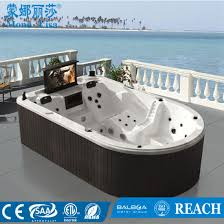 monalisa outdoor whirlpool jacuzzi hot tub spa with tv m 3361