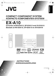 Jvc Ex A10e A10e User Manual Lvt1403 006b