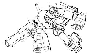Small Picture Optimus prime pictures to color