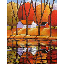 contemporary abstract art fall landscapes bing images
