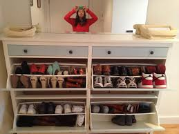 interior: Fascinating Ikea Shoe Closet Design Installed At Contemporary  Closet Which Is Using Simple Changing
