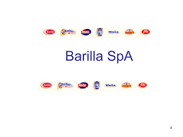 opsm supply chain management ppt video online  4 barilla spa