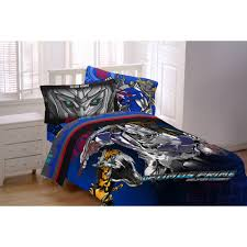 transformers 4 silver knight twin reversible bedding comforter com