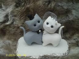 Decor Cat Wedding Cake Topper Weddbook