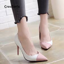 women cute sweet <b>high quality</b> pu <b>leather office high</b> heel shoes ...