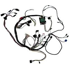 Mustang underdash wiring harness with tachometer 1969