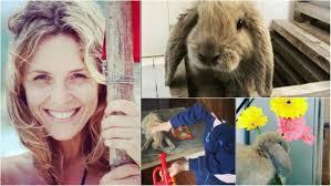 Carla Peterson y las fotos más divertidas del conejo Ricardo, su mascota  estrella de Instagram - Ciudad Magazine