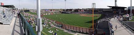 Sloan Park Arizona Seating Chart Sloan Park Chicago Cubs Spring Training