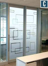 office doors with glass. Perfect Office Glass Home Office Doors With  Frosted Vinyl For In Office Doors With Glass