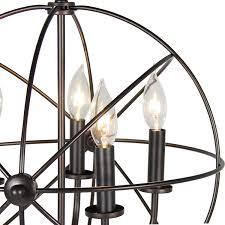 vintage lighting fixtures. Industrial Vintage Lighting Ceiling Chandelier 5 Lights Metal Hanging Fixture Amazoncom Fixtures