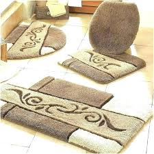 5 piece bath rug set bathroom rug sets 3 piece rug set piece bath rug set
