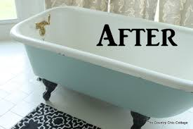 Painting a Claw Foot Tub -- ever wondered how to paint your claw foot tub