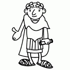 Kleurplaten Van De Romeinen Leuk Voor Kids