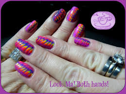 Poptastic Toothpick Marble Nail Art Photo Tutorial | Pointless Cafe