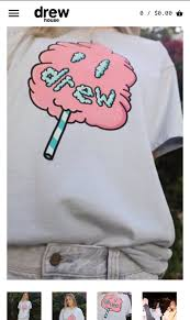 """Justin Bieber Crew on Twitter: """"Drew House Cotton Candy SS Tee ..."""