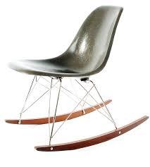 eames furniture design. herman miller charles and ray eames fiberglass rocking chair furniture design