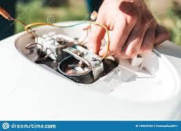 Repairing And Maintenance Repair And Maintenance Of The Water Heater Man Repairing