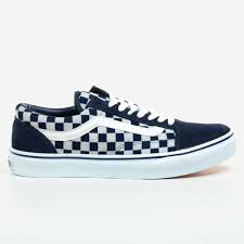 Light Blue And Dark Blue Checkered Vans Details About Vans Old Skool Japan Indigo Navy Blue 2017 White Check Checkered V36clio