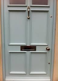door furniture. Brass Front Door Furniture On A Hampshire T