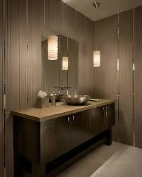 modern bathroom lighting. modern bathroom lighting fixtures design ideas wooden table with wash basin and mirror r