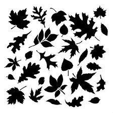 Fall Leaf Pattern Impressive Amazon Fall Leaves Pattern Stencil 48 X 48