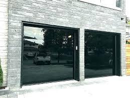 glass garage door cost new panel 10x10 s