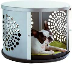 furniture denhaus wood dog crates. denhaus bowhaus modern dog furniture silver pet crate you can get more denhaus wood crates