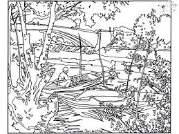 Small Picture Coloriage de vincent van gogh Coloring pages for adults JustColor